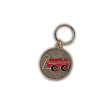 Little Red Wagon Keyring 1 34