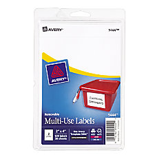 Avery Removable InkjetLaser Multipurpose Labels 2