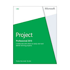 Microsoft Office Project Professional 2013 English