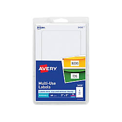 Avery Removable InkjetLaser Multipurpose Labels 5