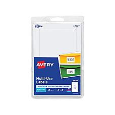 Avery Removable InkjetLaser Multipurpose Labels 5