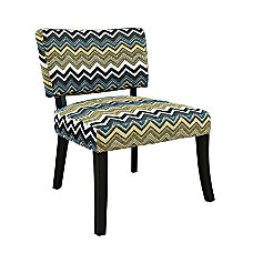 Powell Home Fashions Zig Zag Armless
