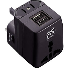 Symtek WorldPlug Dual USB Universal Travel