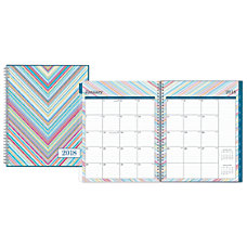 Blue Sky WeeklyMonthly Planner 8 12