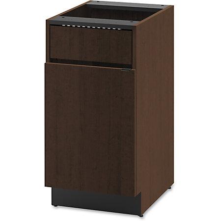 Hon Modular Single Waste Management Cabinet 18 X 24 X 36 For Box 1 X Hinged Doors Hinged Door