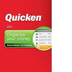 Quicken Starter Edition 2017 Download Version