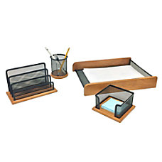 Mind Reader Exec Desk Organizer Collection