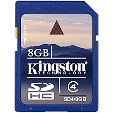Kingston SDHC Class 4 Memory Card