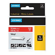 DYMO Rhino Vinyl Label Tape 12