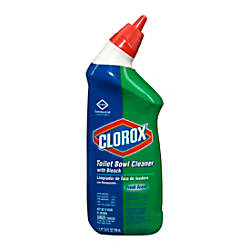 Clorox Bleach Toilet Bowl Cleaner 24