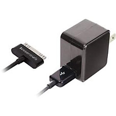 iEssentials USB Wall Charger with Apple