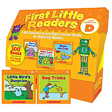 Scholastic Teacher Resources First Little Readers