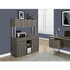 Monarch Specialties Office Cabinet Credenza Dark