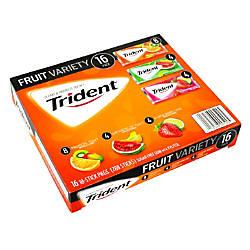 Trident Sugar Free Fruit Gum Box