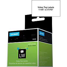 Dymo Video Tape Label 180 Width