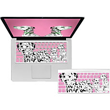 KB Covers Pink Dalmations Keyboard Cover