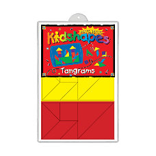 Barker Creek Magnets Magnetic Kidshapes Tangrams