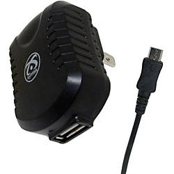 Symtek USB AC Charger with Micro