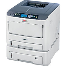 Oki C610DTN LED Printer Color 1200