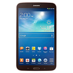 "Samsung Galaxy Tab™ 3 Tablet With 8"" Screen, Gold/Brown"