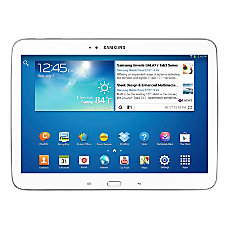 Samsung Galaxy Tab 3 Tablet With