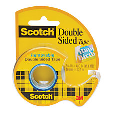 Scotch 667 Removable Double Sided Tape