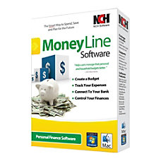 NCH Software MoneyLine For PCMac Traditional