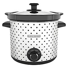 Black Decker 4 Quart Slow Cooker