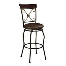 Linon Home Decor Products Basque Stool