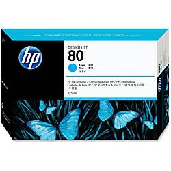 HP 80 Cyan Ink Cartridge C4872A