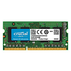 Crucial 8GB 204 pin SODIMM DDR3