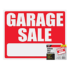 Cosco Garage Sale Sign Kit 15