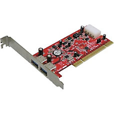 Addonics AD2U3PCI 2 port USB 30