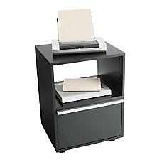 OfficeMax Mobile Printer Cart Black