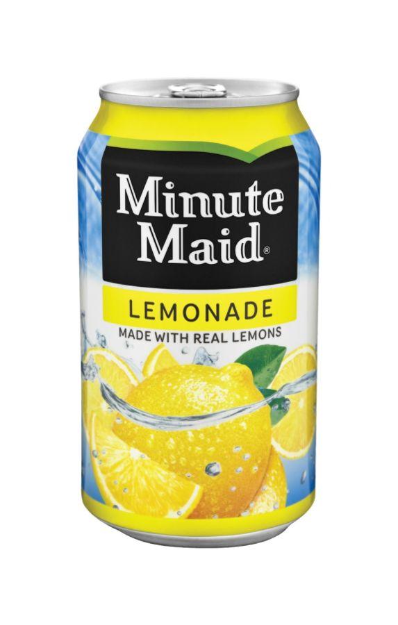 Minute Maid Apple Juice Can