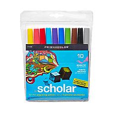 Prismacolor Scholar Brush Tip Markers Brush