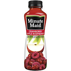 Minute Maid Cranapple Raspberry Drink 152