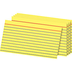 OfficeMax Ruled Index Cards 3 x