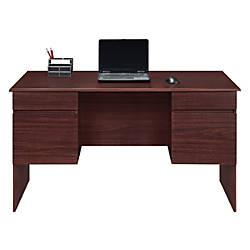 Altra District Double Pedestal Desk 30 H X 55 W X 28 D
