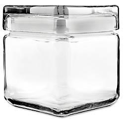 Office Settings Glass Jar 1 Quart