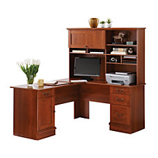Sauder Traditional L Shaped Desk 29
