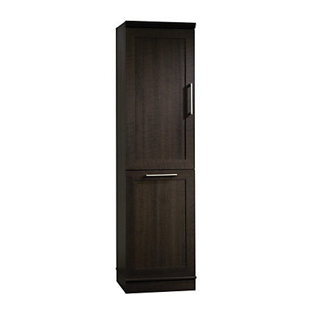 Sauder Homeplus Tilt Out Storage Cabinet Dakota Oak