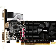 MSI N610GT MD1GD3LP GeForce GT 610
