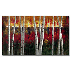 Trademark Global Autumn Gallery Wrapped Canvas