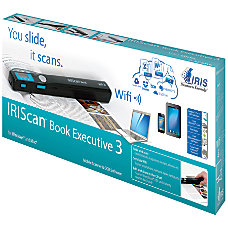 IRIS IRIScan Book 3 Executive Handheld