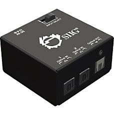 SIIG 2x1 SPDIF TOSLINK Digital Audio