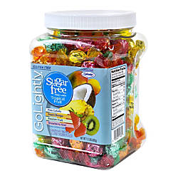 GoLightly Sugar Free Tropical Fruit Hard