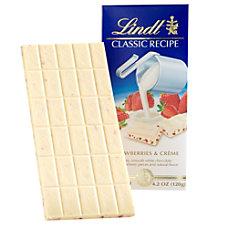 Lindt Classic Recipe Bars Strawberries Cream