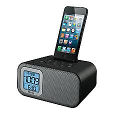 iHome iBT22B Bluetooth Dual Alarm Clock