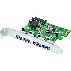 SIIG 4 Port USB 30 PCIe